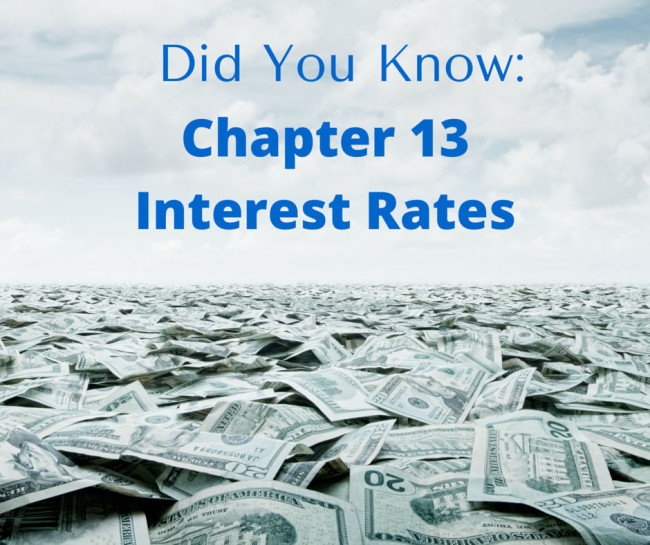 chapter 13 interest rates