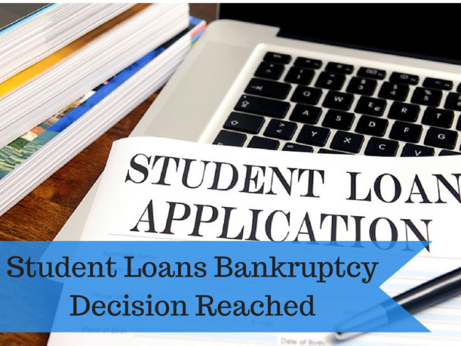 Student Loans Bankrupcy