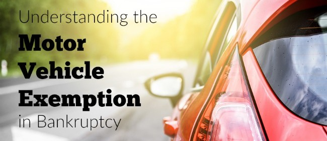 Understanding the Motor Vehicle Exemption