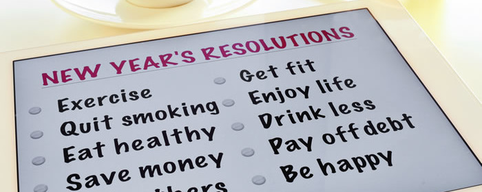 Personal Finance New Year's Resolutions