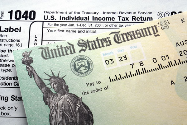 tax refund during bankruptcy