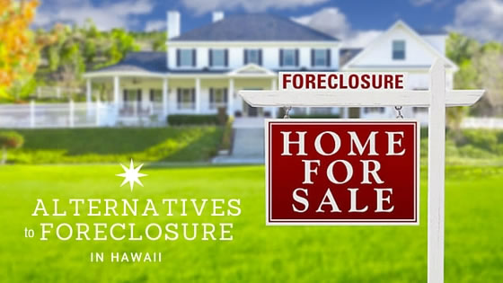 alternative to foreclosure in Hawaii