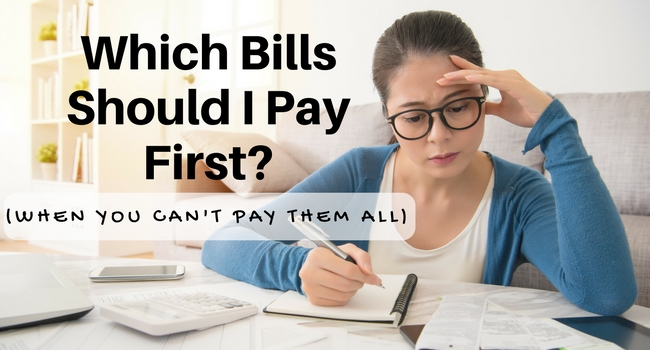 Which Bills Should I Pay First When You Cant Pay them all