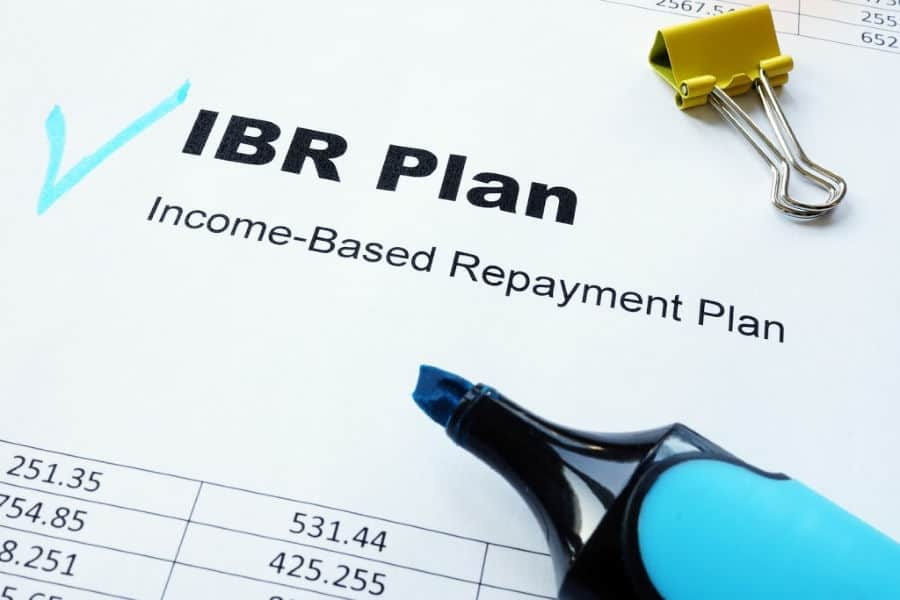 Income-based Repayment plan